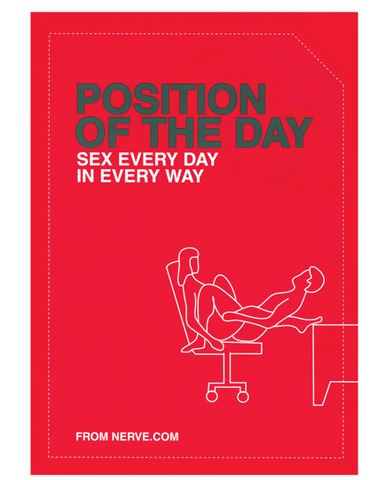 Book, position of the day sex every day in every way
