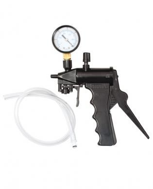 Dr. joel kaplan deluxe hand pump with gauge - bulk