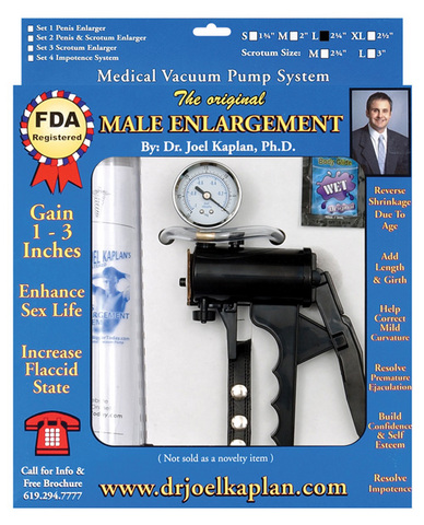 The original male enlargement pump system 2.25in