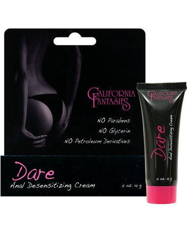 Dare anal desensitizing cream - .5 oz tube boxed