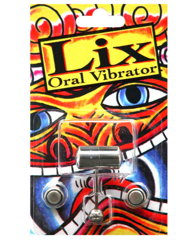 Lix oral vibrator tongue ring