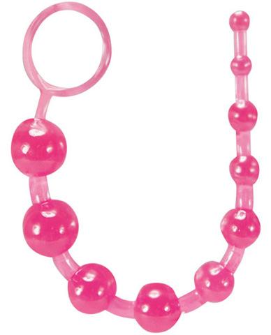Basic Anal Beads - Pink