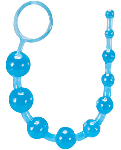Basic Anal Beads - Blue