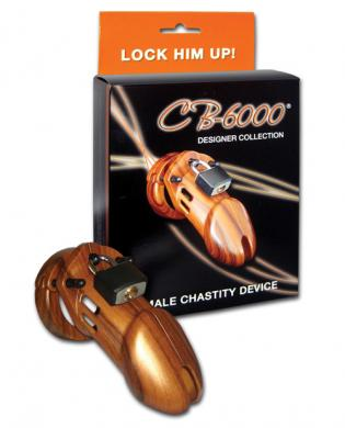 Cb-6000 3 1/4in cock cage and lock set - wood