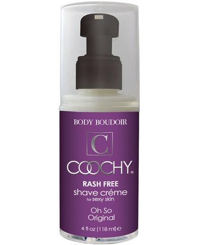 Coochy body rashfree shave creme - 4 oz original