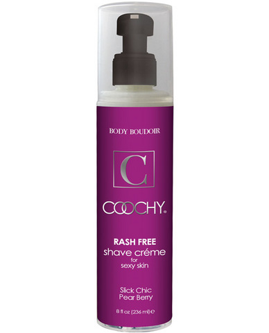 Coochy body rashfree shave creme - 8 oz pear berry
