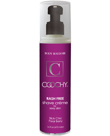 Coochy body rashfree shave creme - 16 oz pear berry