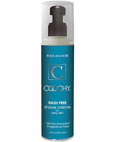 New coochy body rashfree shave creme - 16 oz fragrance free