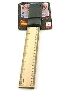 12in Naughty Lil' School Girl Ruler Paddle