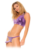 Fetish Fantasy Classic Strap On Harness 6 Inch Dildo Purple