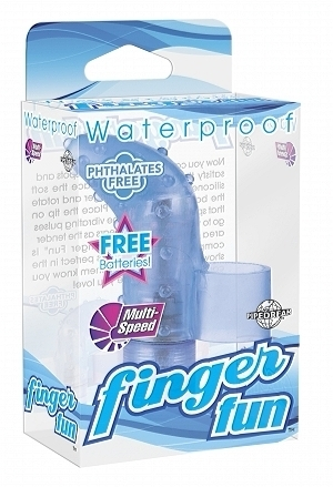Waterproof Finger Fun - Blue