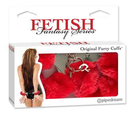 Fetish Fantasy Series Furry Love Cuffs - Red