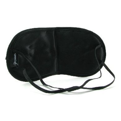 Fetish Fantasy Satin Love Mask Black O/S