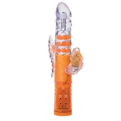 Triple Orgasm Vibrator - Orange