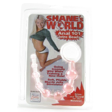 Shane's world anal 101 intro beads - pink