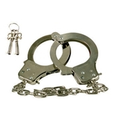 Chrome hand cuffs