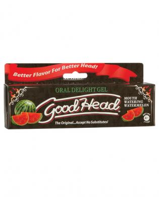 Goodhead Oral Delight Gel Watermelon 4oz Tube