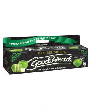 Goodhead oral gel - 4 oz green apple