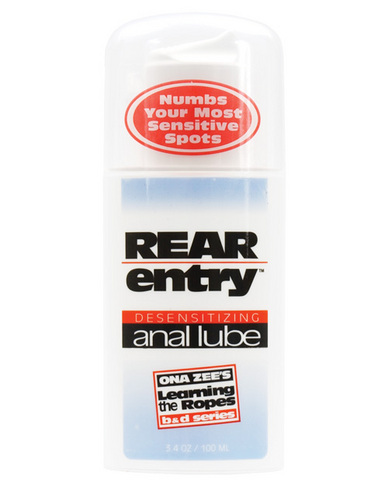 Ona Zees Rear Entry Desensitizing Anal Lube 3.4oz