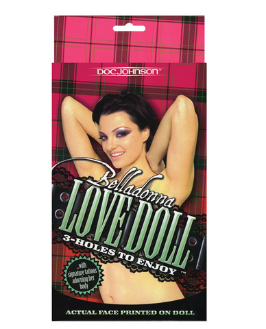Belladonna 3 hole love doll
