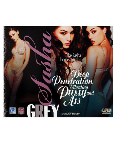 Sasha Grey Vibrating Pussy And Ass Beige