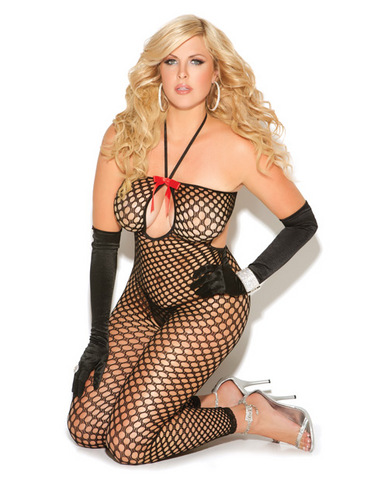 Vivace crochet bodystocking black qn