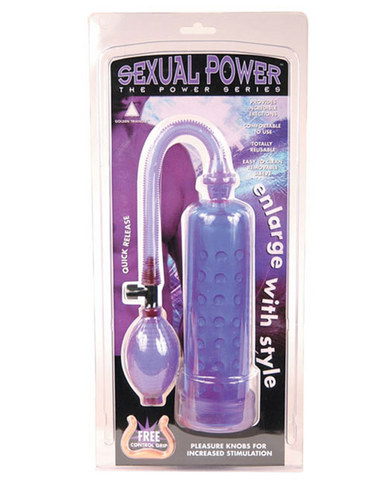 Sexual power pump - lavender