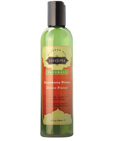 Kama sutra naturals massage oil - natural strawberry