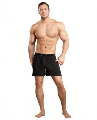 Bamboo Boxer Short Black Sm