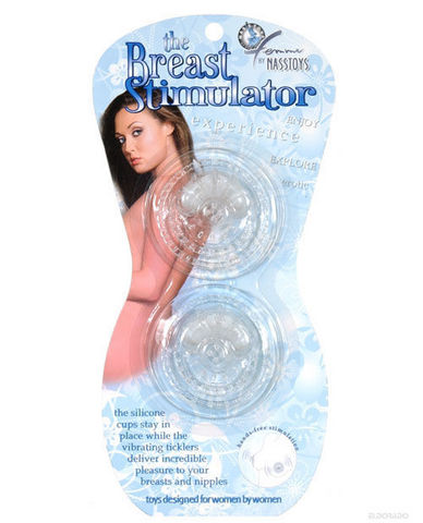 The breast stimulator - clear