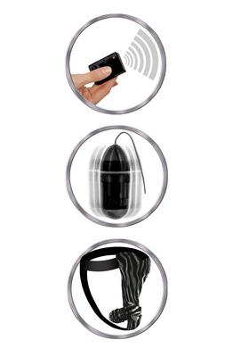 Remote control fantasy panty-black