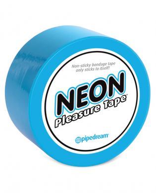 Pipedream neon pleasure tape - blue