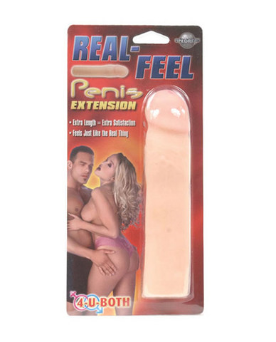 Real Feel Penis Extension Beige