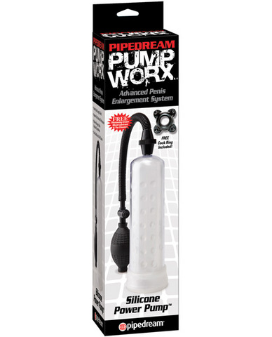Silicone  Power Pump Clear