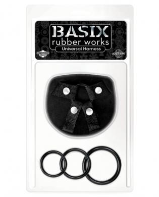 Basix Rubber Works Universal Harness One Size