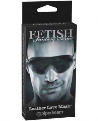 Limited Edition Leather Love Mask