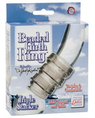 Dr joel beaded girth ring - triple stacker