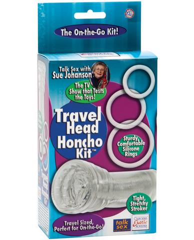 Sue johanson travel head honcho kit