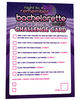 Night to remember bachelorette challenge cards by sassigirl