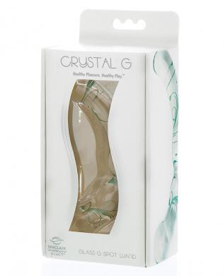 Sinclair Crystal Glass G Wand