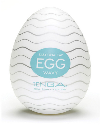 Tenga egg - wavy pack of 6