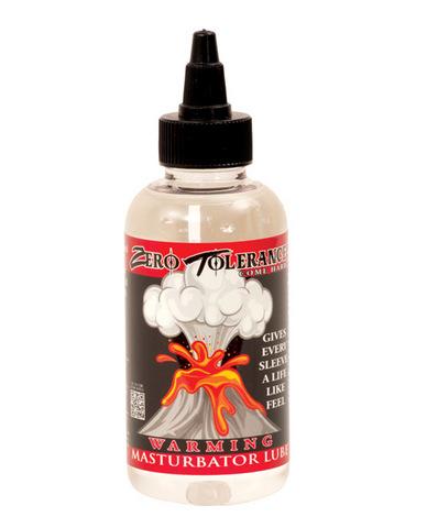 Zero tolerance warming masturbator lube - 4 oz