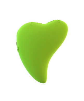Leaf Plus Fresh Plus Rechargeable Massager - Green