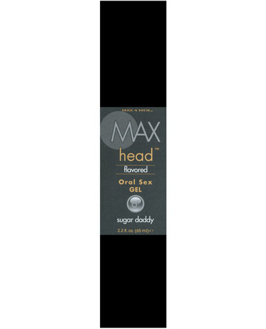 Max Head Flavored Oral Sex Gel 2.2 oz - Sugar Daddy