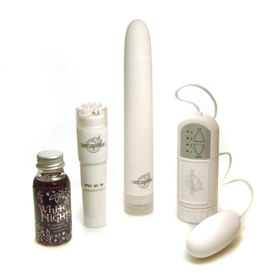 White Nights Pleasure Kit - 3 Vibrators