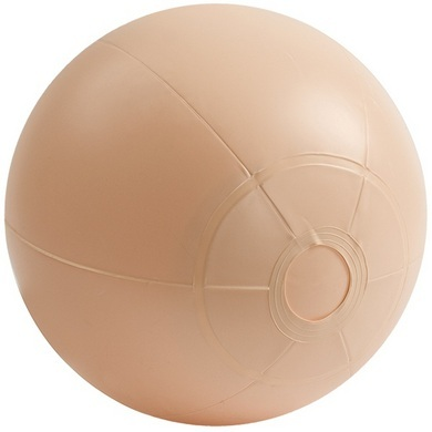 E-z Rider Ball With Plug - Beige