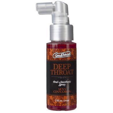 Goodhead Deep Throat Spray Cinnamon 2oz