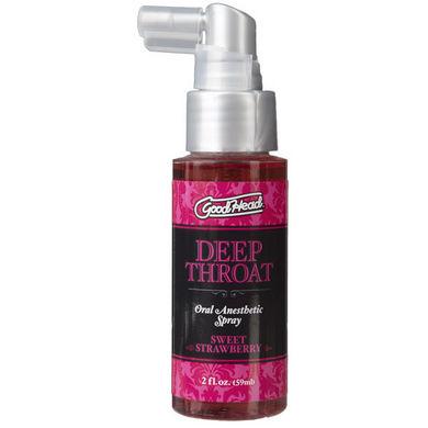 Goodhead Deep Throat Spray Sweet Strawberry 2oz