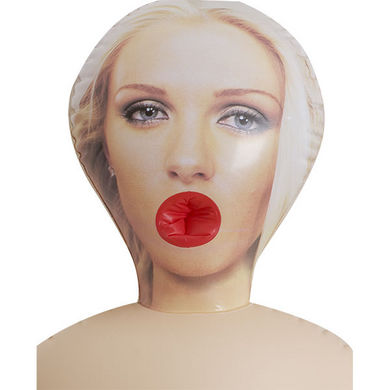 Vivid Tawny 3 Hole Doll With Actual Face