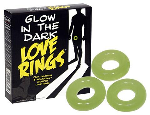 Glow In The Dark Love Ring